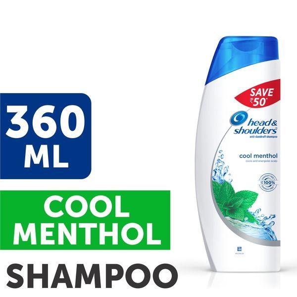 Head & Shoulders Cool Menthol Shampoo Save Rs.50