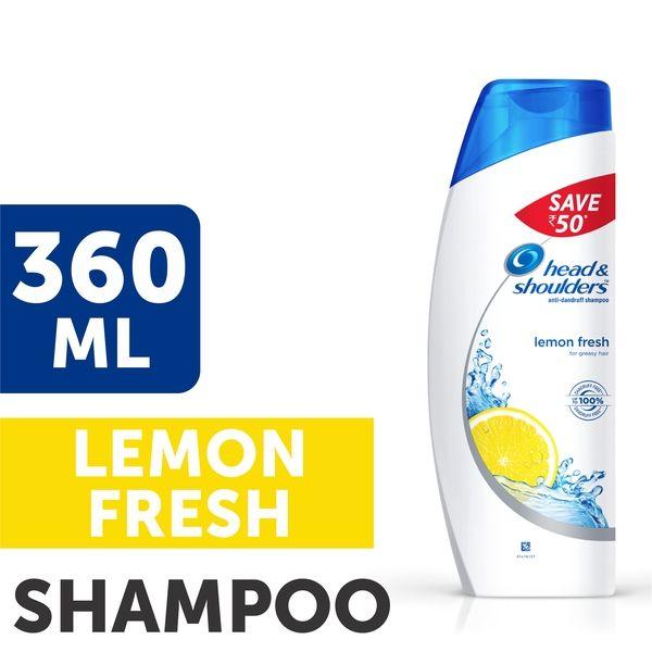 Head & Shoulders Anti Dandruff Lemon Fresh Shampoo Save Rs.50