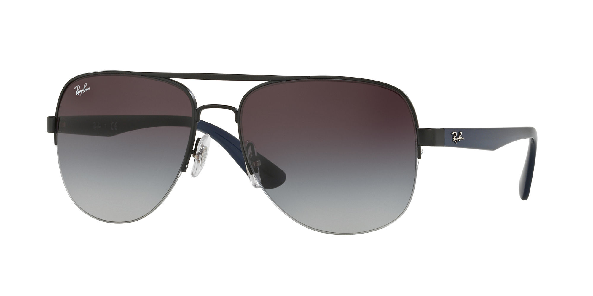 Ray-Ban Gray Gradient Sunglasses - 0RB3552I/0068G 58 - 17