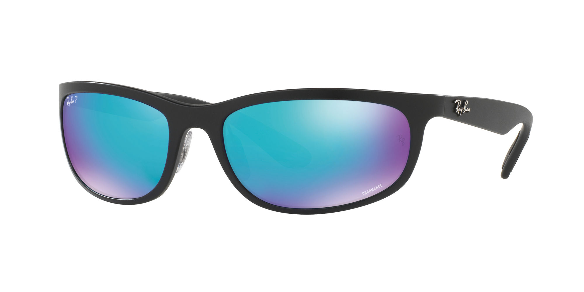 Ray-Ban Blue Mirror Chromance Sunglasses - 0RB4265/601SA1 62 - 19