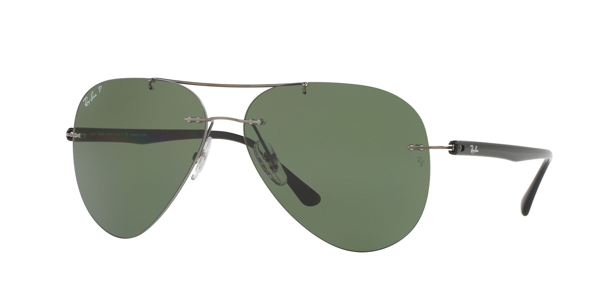 Ray-Ban Brown Polarized Aviator Sunglasses - RB3025 001/57 59 - 13