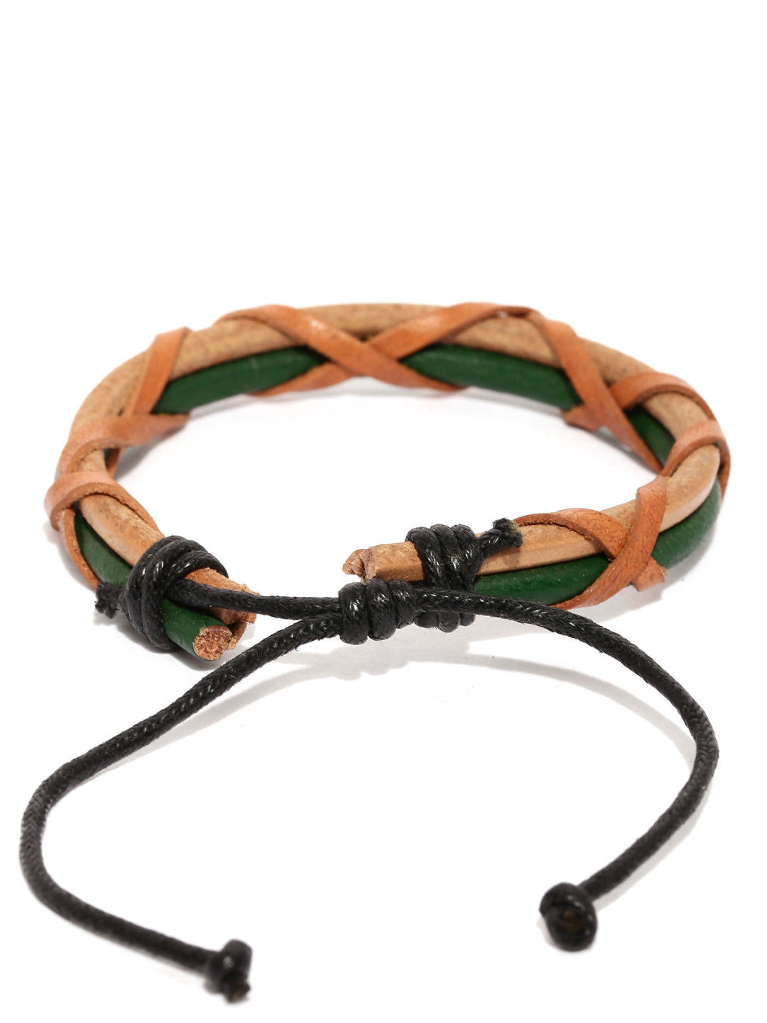 Tipsyfly Ubud Leather Bracelet