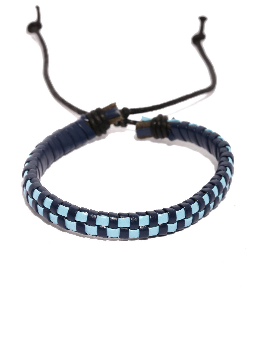 Tipsyfly Blue Checks Bracelet