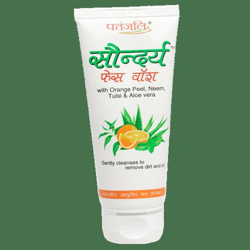 Patanjali Saundarya Face Wash, 60 GM
