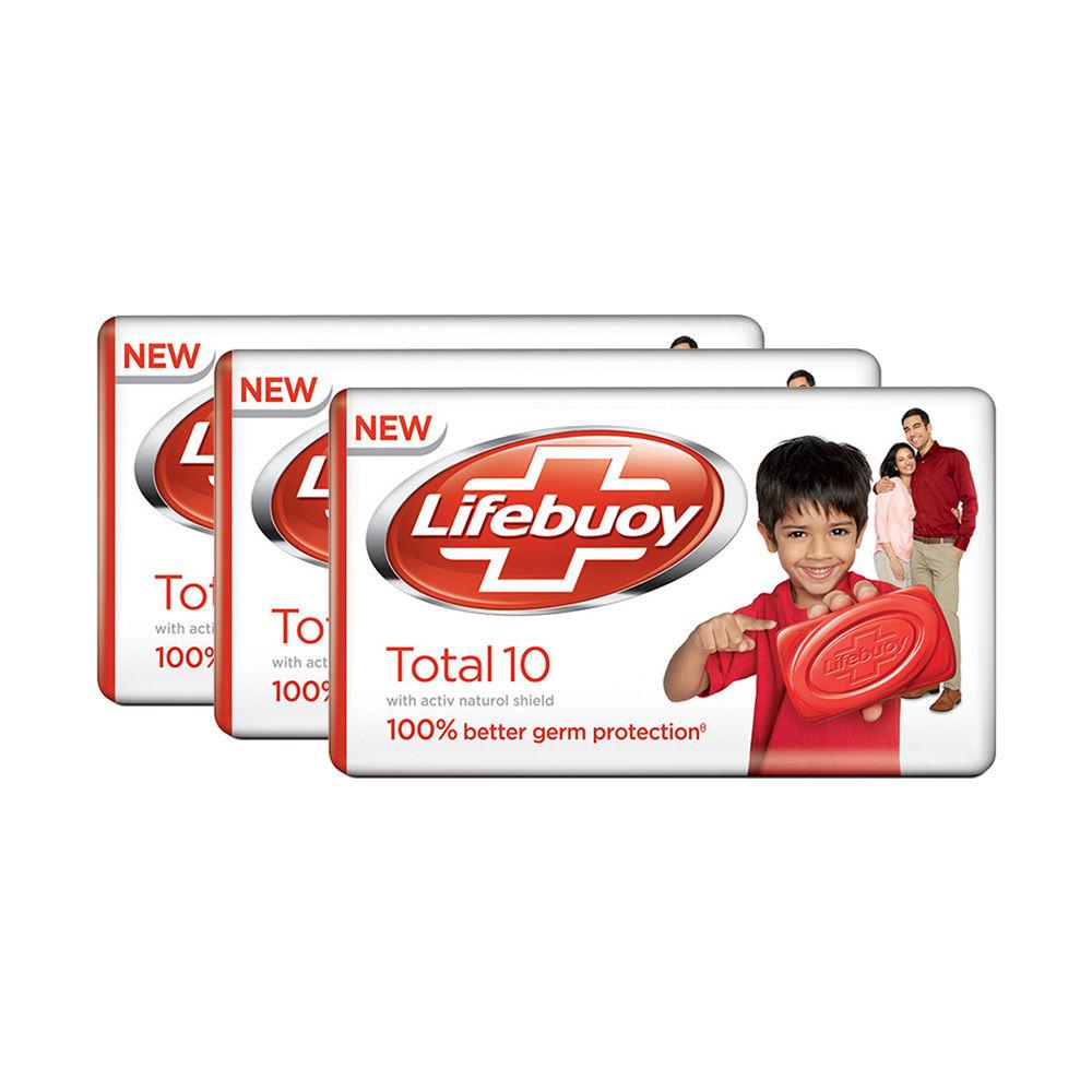 Lifebuoy Total Soap Bar Pack Of 3