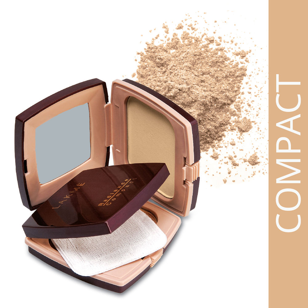 Lakme Radiant Compact Natural Coral 9 gm