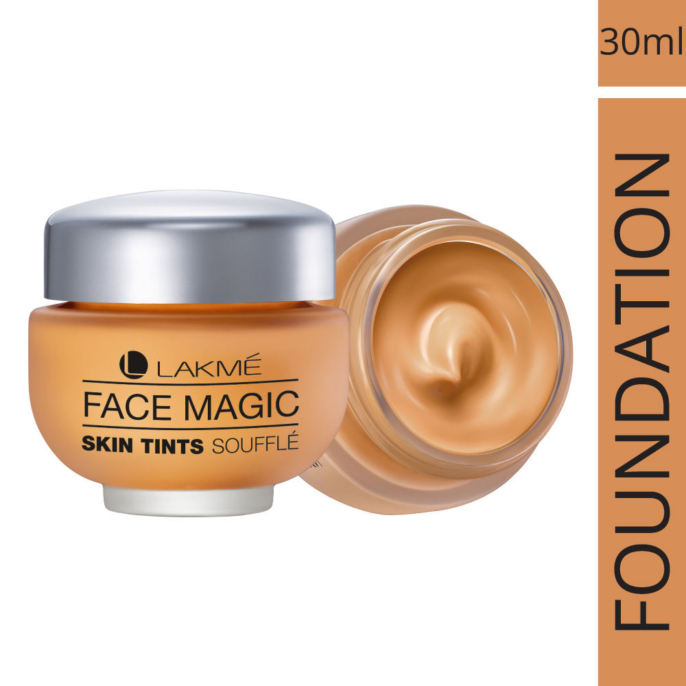 Lakme Face Magic Skin Tints Souffle Foundation, 30 ml