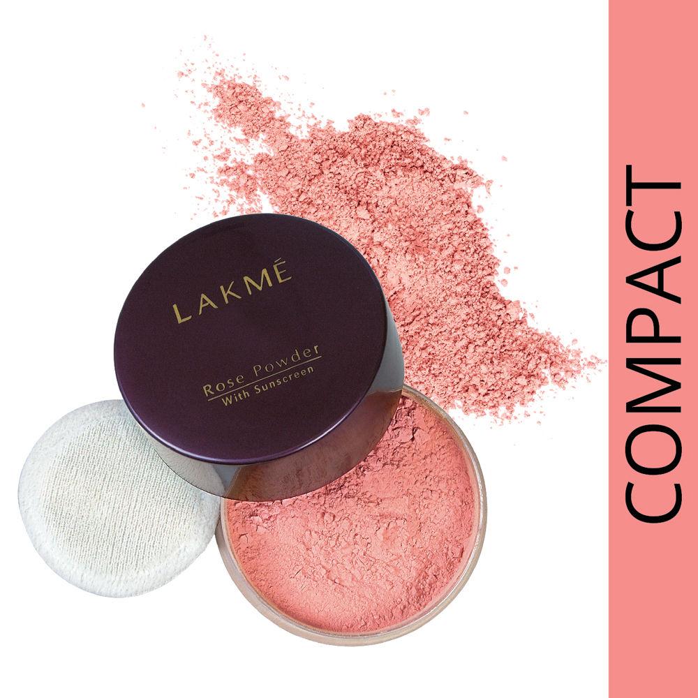 Lakme Rose Face Powder, Warm Pink