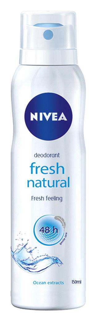 Nivea Fresh Natural Spray Save Rs.9