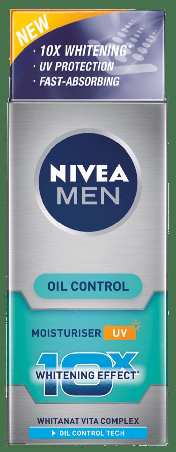 Nivea Whitening 10X Oil Control Men Moisturizer, 20 ML