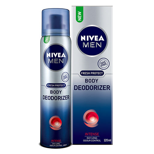 Nivea Men Fresh Protect Deodorizer Intense Body Spray For Men - 120 ml