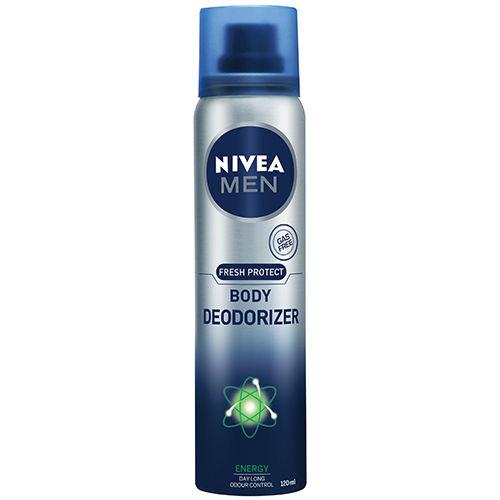 Nivea Men Fresh Protect Body Deodorizer Energy - 120 ml
