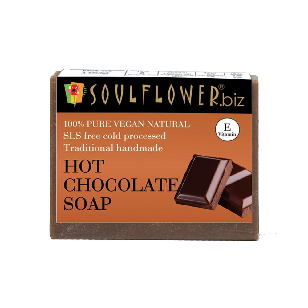 Soulflower Hot Chocolate Soap