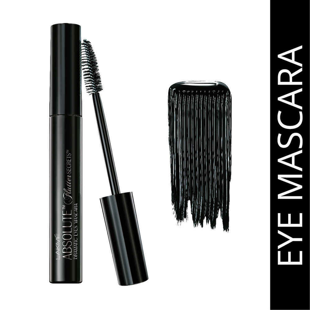 Lakme Absolute Flutter Secrets Dramatic Eyes Mascara - Black