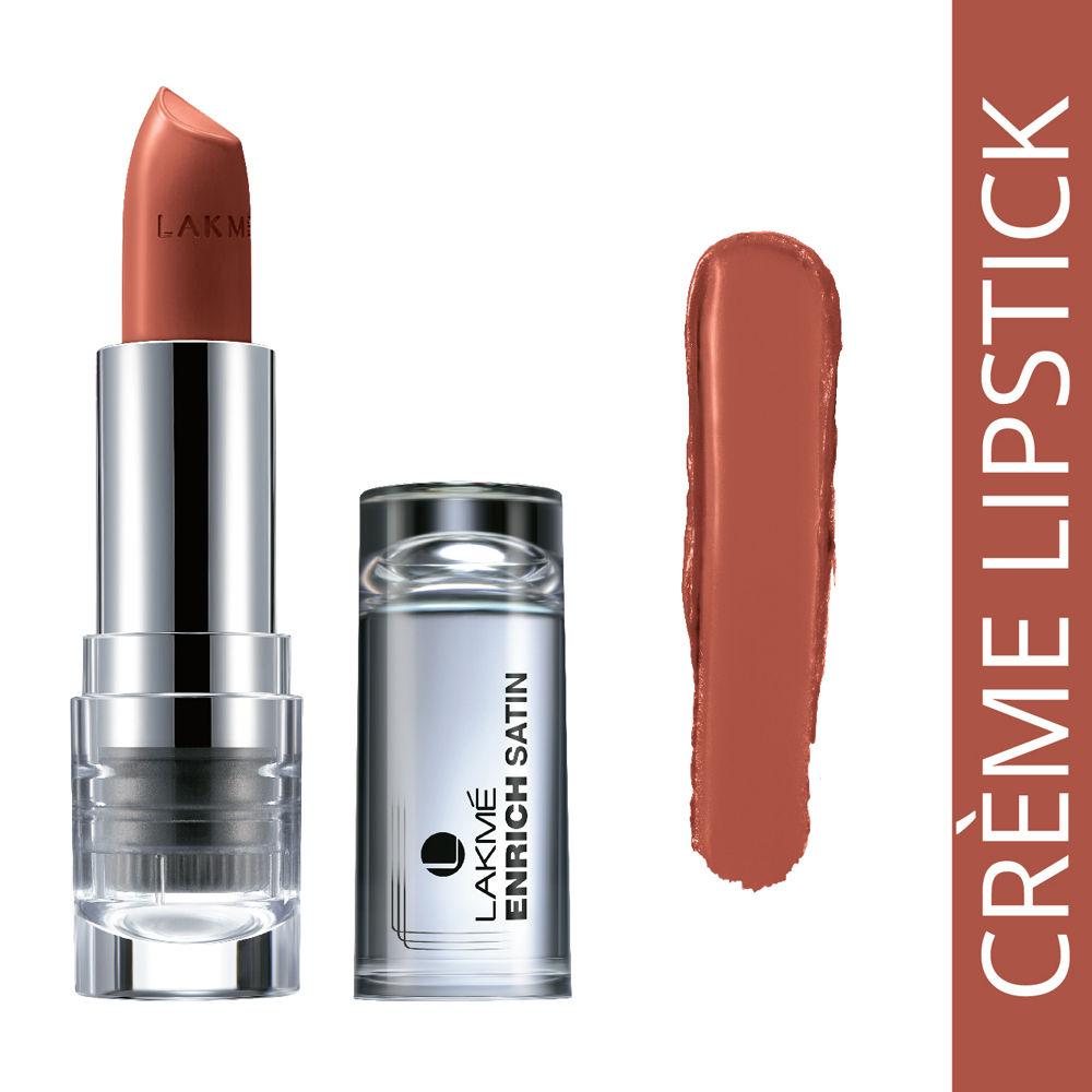 Lakme Enrich Satin Lipstick, B576 Shade 4.3 GM