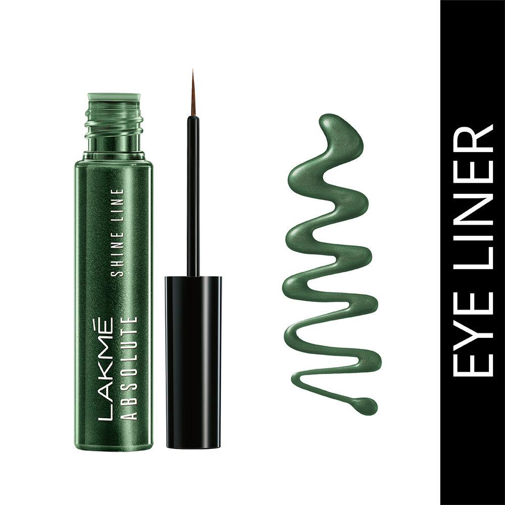 Lakme Absolute Shine Line Eye Liner - Sparkling Olive