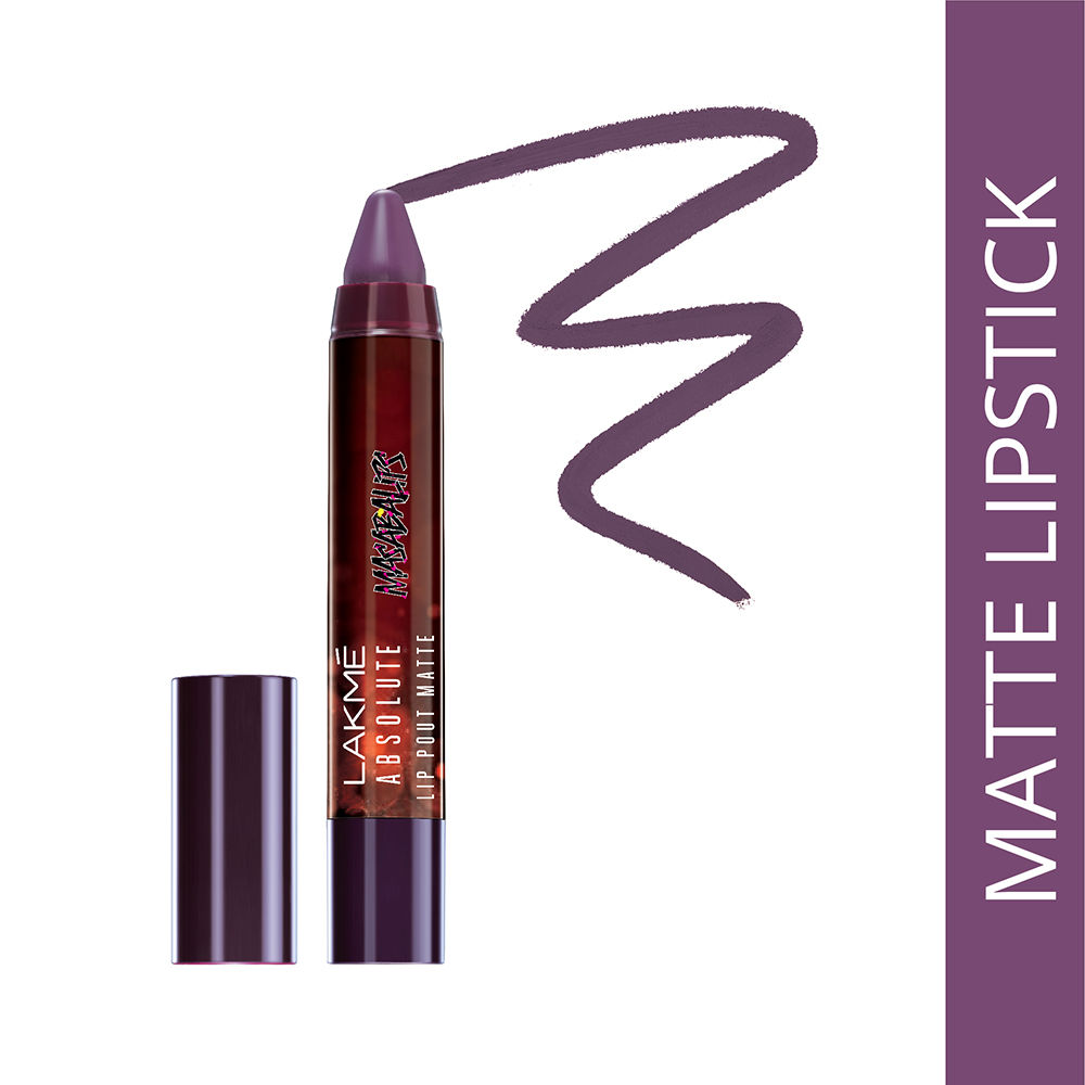 Lakme Absolute Lip Pouts Matte Masaba Lip Color - Role-a-cola