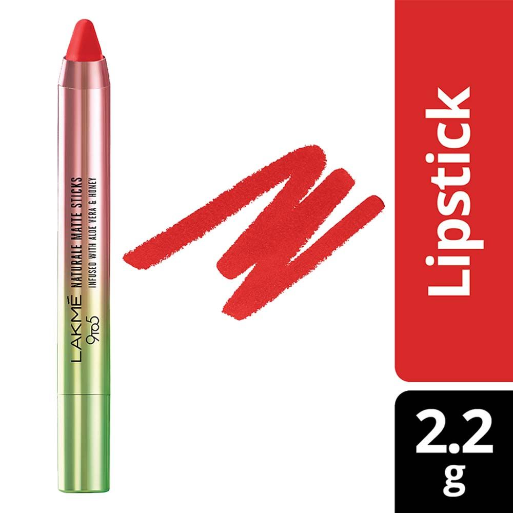 Lakme 9 to 5 Naturale Matte Sticks Lipstick  Coral Place