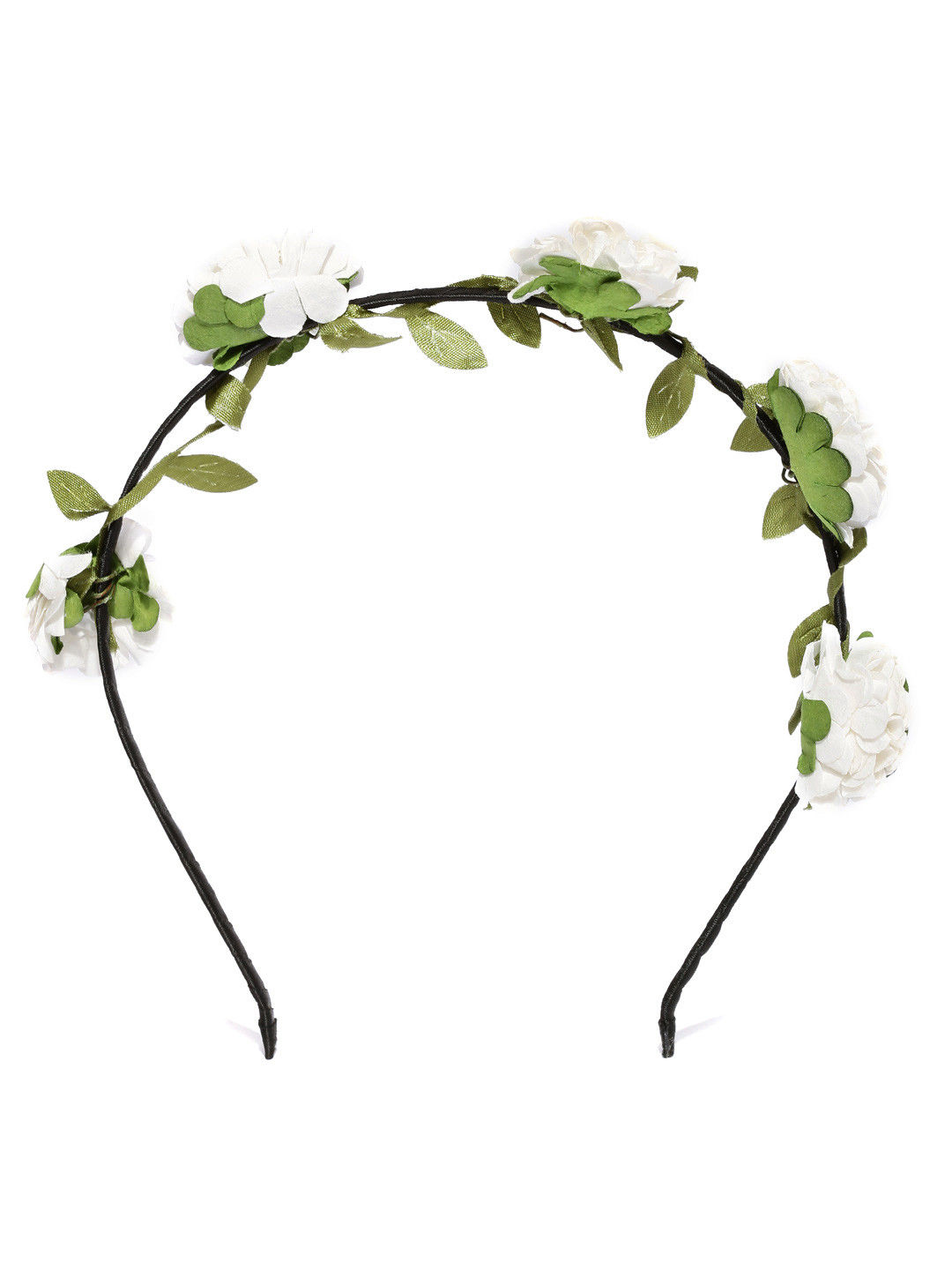 Toniq White Floral Hair Band