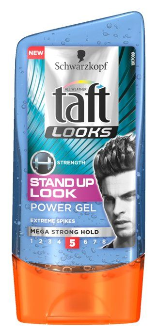 Schwarzkopf Taft All Weather Looks Stand Up Look Mega Strong Hold Hair Styler