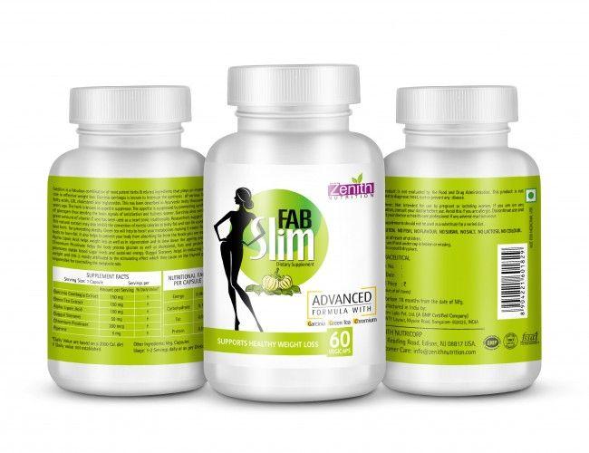 Zenith Nutrition Fabslim (60 Capsules)