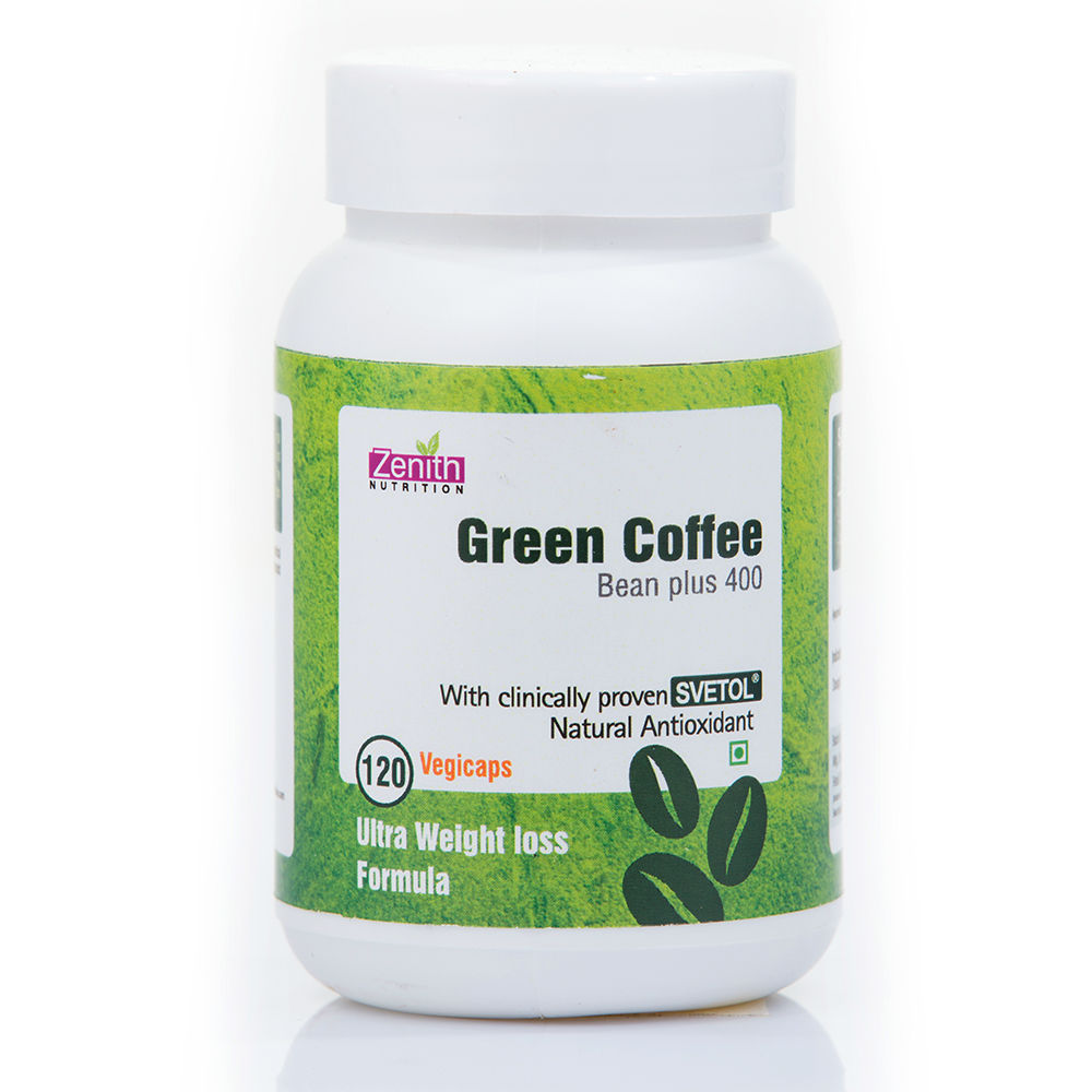 Zenith Nutrition Green Coffee Bean Plus 400 Mg Capsules