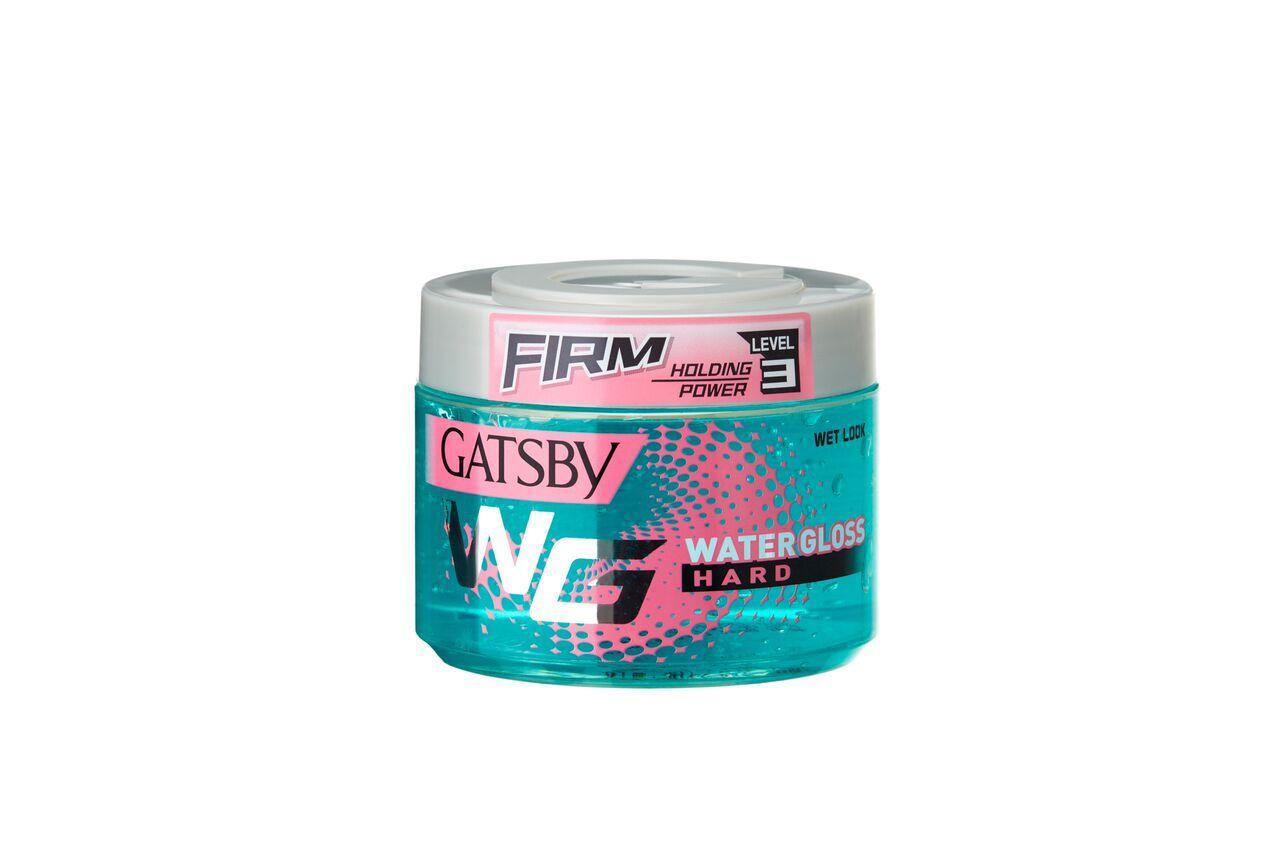 Gatsby Water Gloss Hard Hair Gel (Blue)