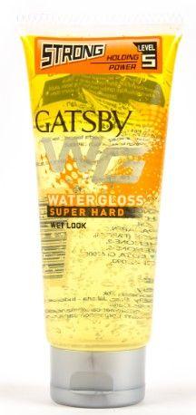 Gatsby Water Gloss Super Hard Hair Gel (Yellow)