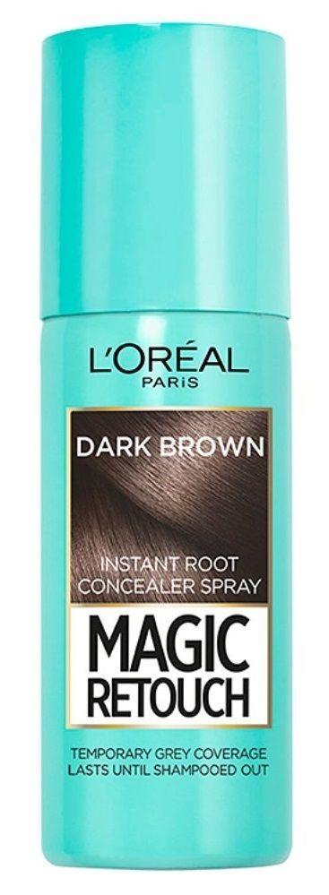 L'Oreal Paris Magic Retouch Instant Root Concealer - 2 Dark Brown, 75ml