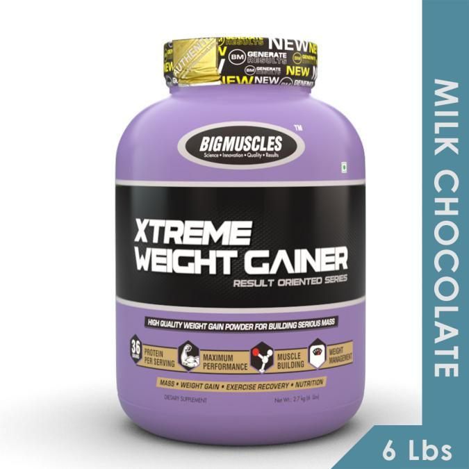 Big Muscles Xtreme Weight Gainer - Milk Chocolate