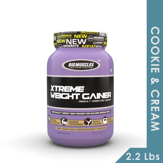 Big Muscles Xtreme Weight Gainer - Cookie & Cream