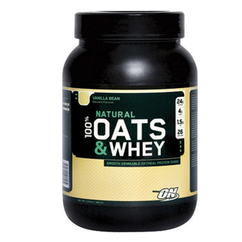Optimum Nutrition Natural Oats and Whey Vanilla Bean - 3 lbs