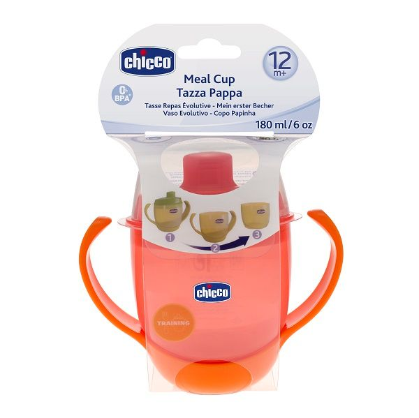 Chicco Meal Cup (12M+ ) - Red