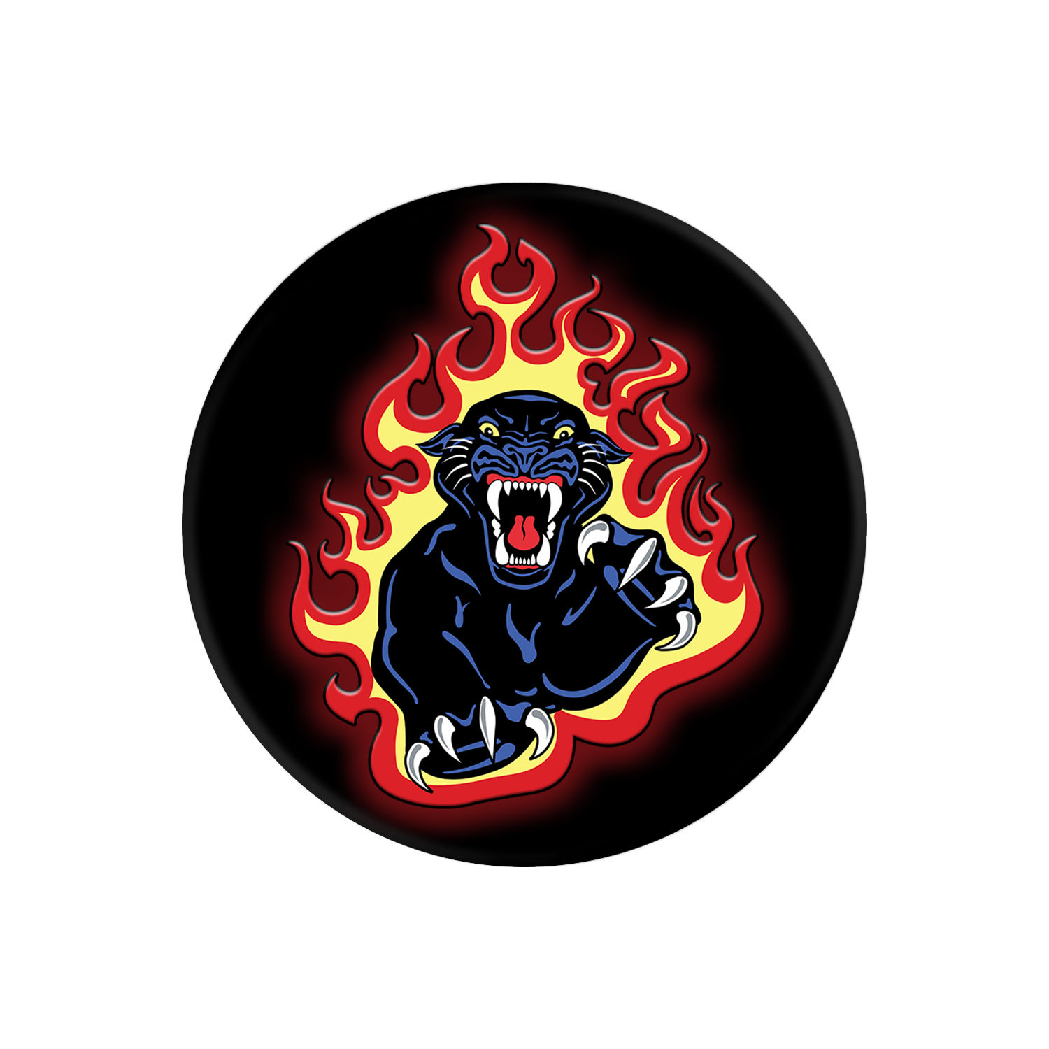 Popsockets Panther Flames Expanding Stand and Grip
