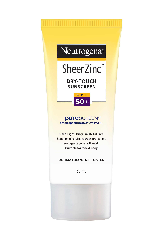 Neutrogena spf 50 sheer zinc