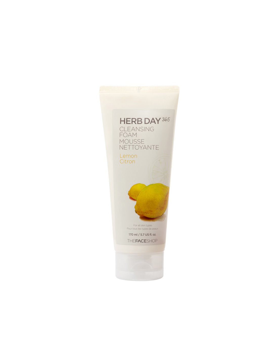 The Face Shop Herb Day 365 Cleansing Foam Lemon