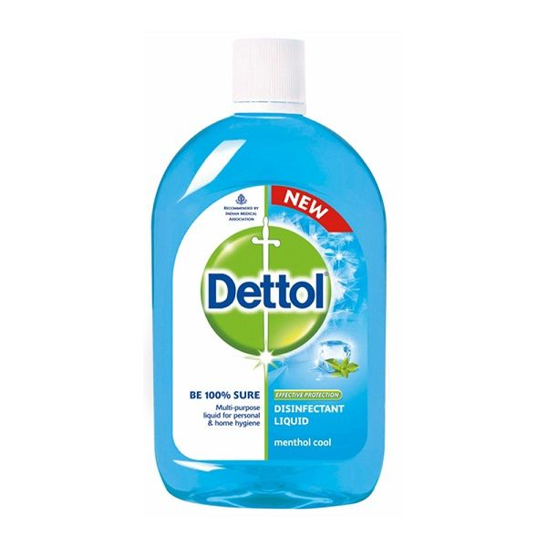 Dettol Disinfectant Liquid, 200 ML Menthol Cool