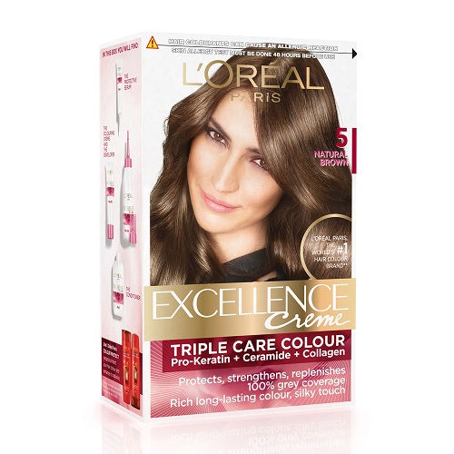 Loreal Paris Excellence Crème Hair Color- Nat