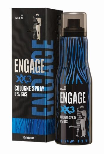 Engage XX3 Cologne Spray for Men, 135 ml
