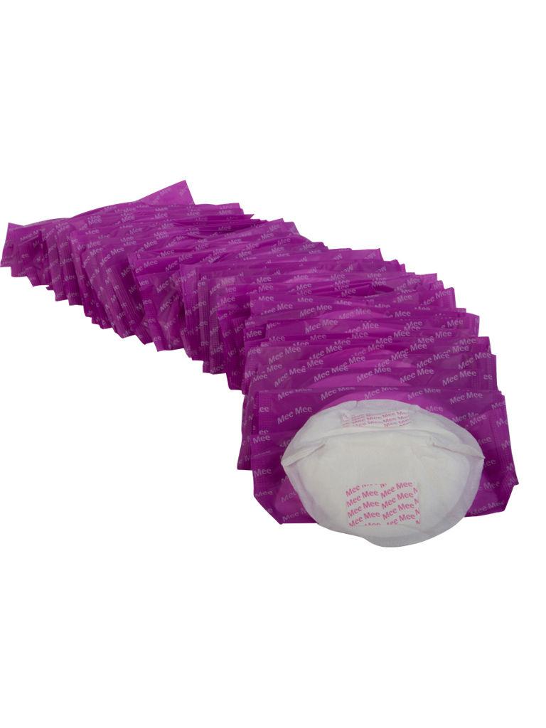 Mee Mee Premium Disposable Maternity Nursing Pads - (48 Pcs) White