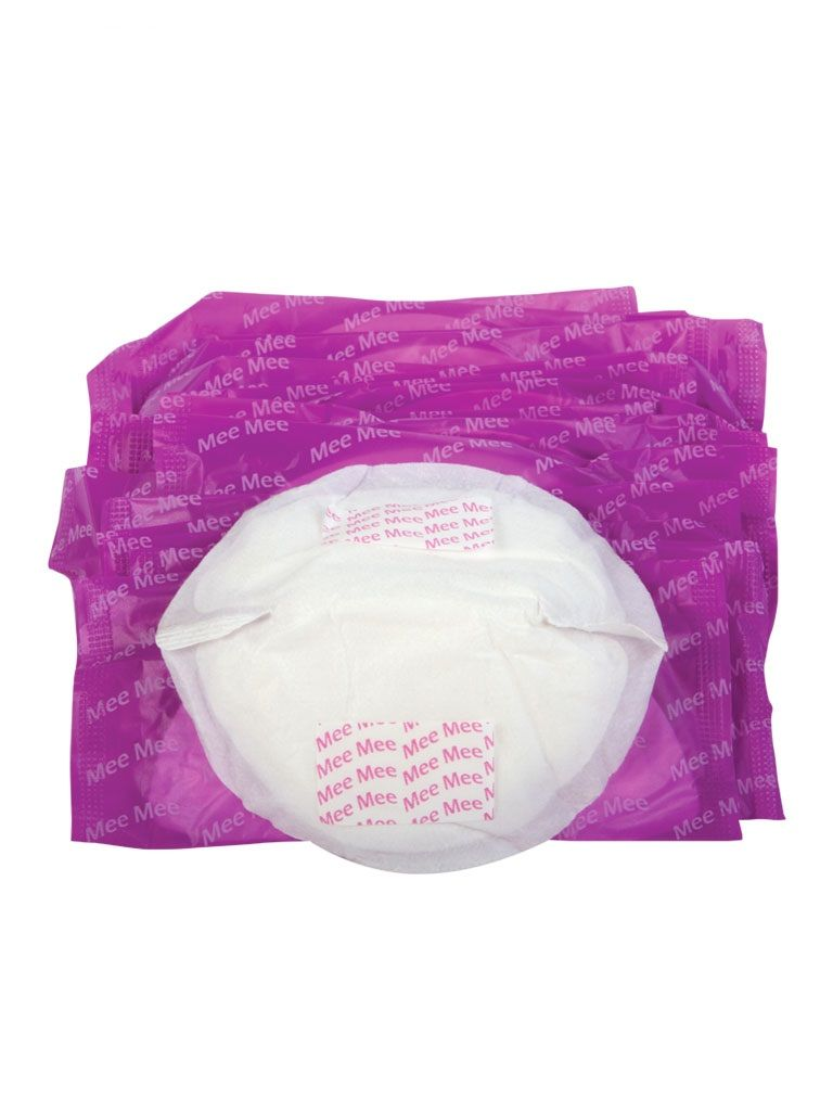 Mee Mee Premium Disposable Maternity Breast Pads - White (24 Pcs)