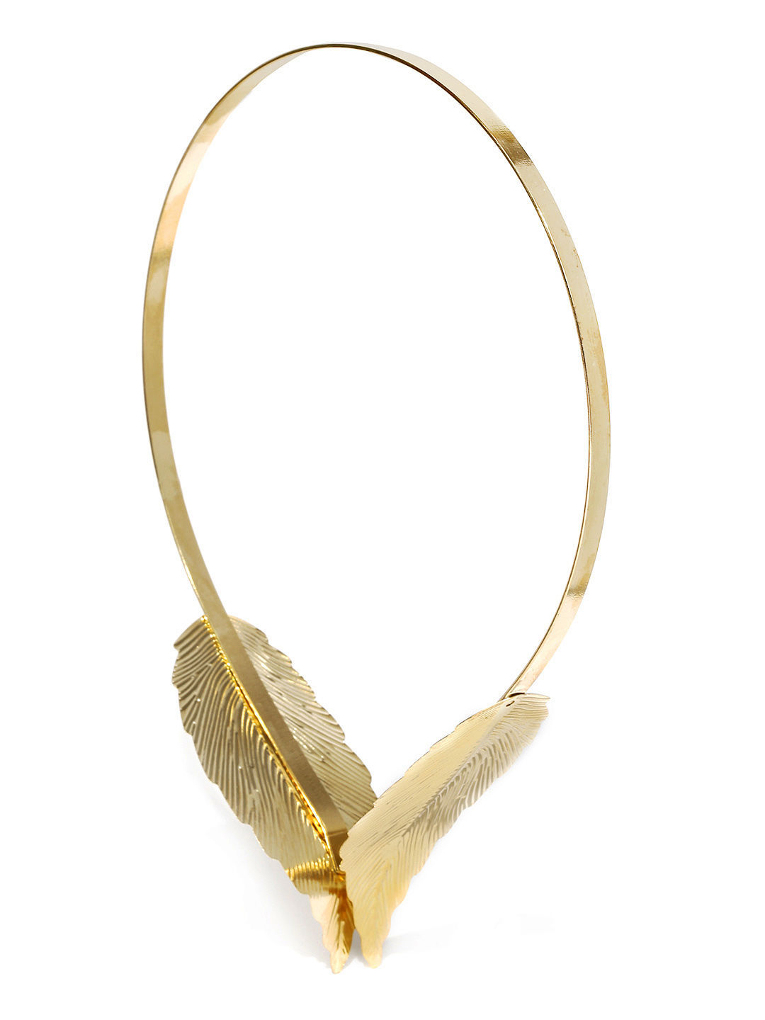 Toniq Golden Leaf Reversible Hair Band