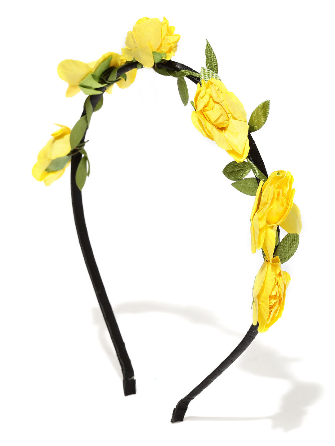 Toniq Bohemia Yellow Flower Hair Band