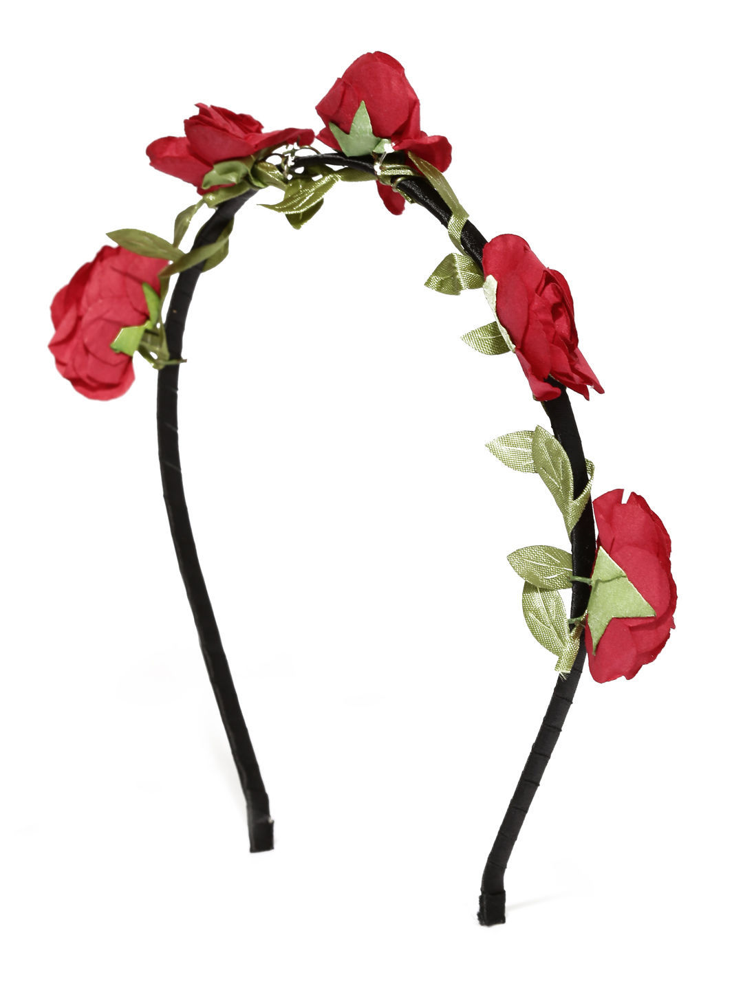 Toniq Bohemia Red Flower Hair Band