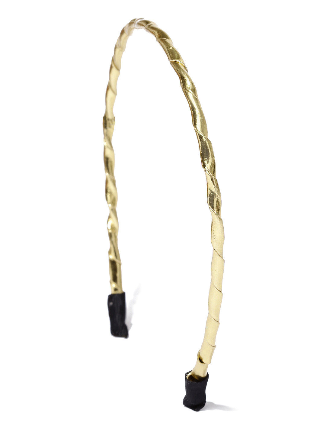 Toniq Gold Braided Basic Hair Band