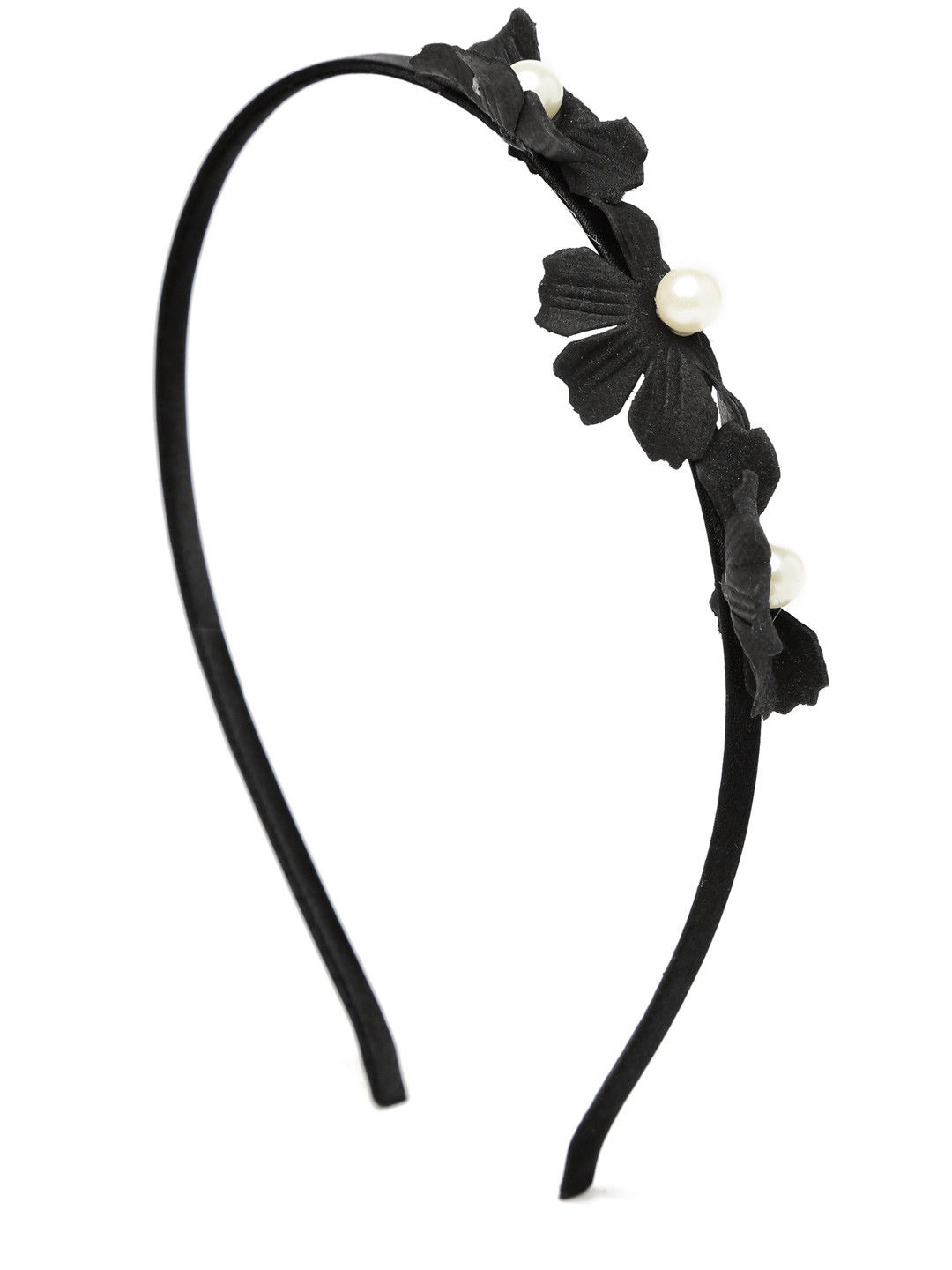 Toniq Black Daisy Hair Band
