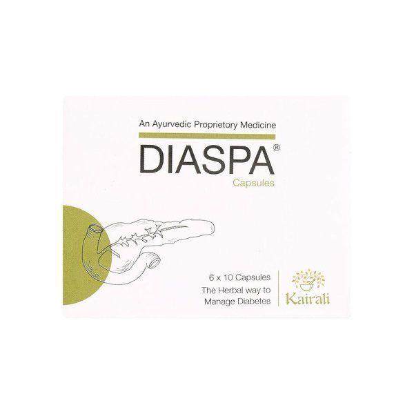 Kairali Diaspa Capsules (The Herbal Way To Manage Diabetes)