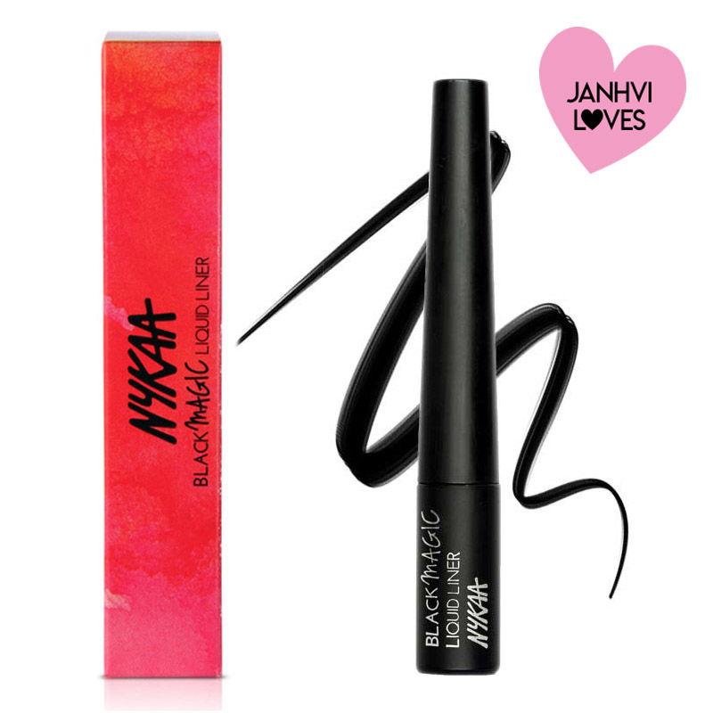 Nykaa Black Magic Liquid Eyeliner - Super Black 01