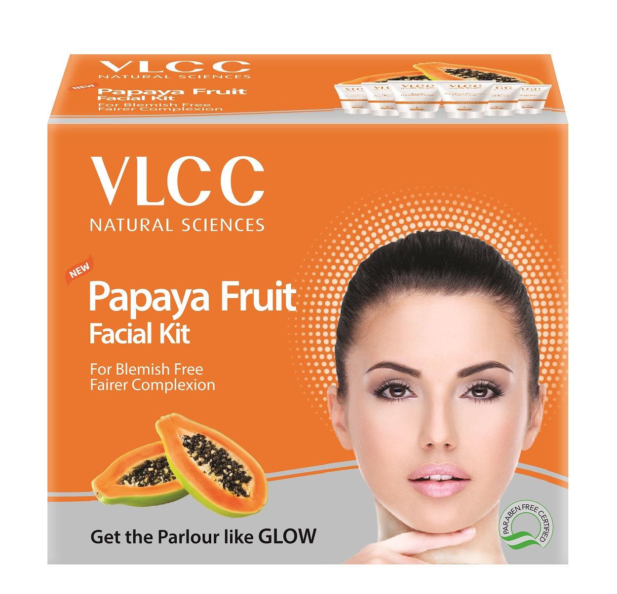 VLCC Papaya Fruit Single Facial Kit at Nykaa.com