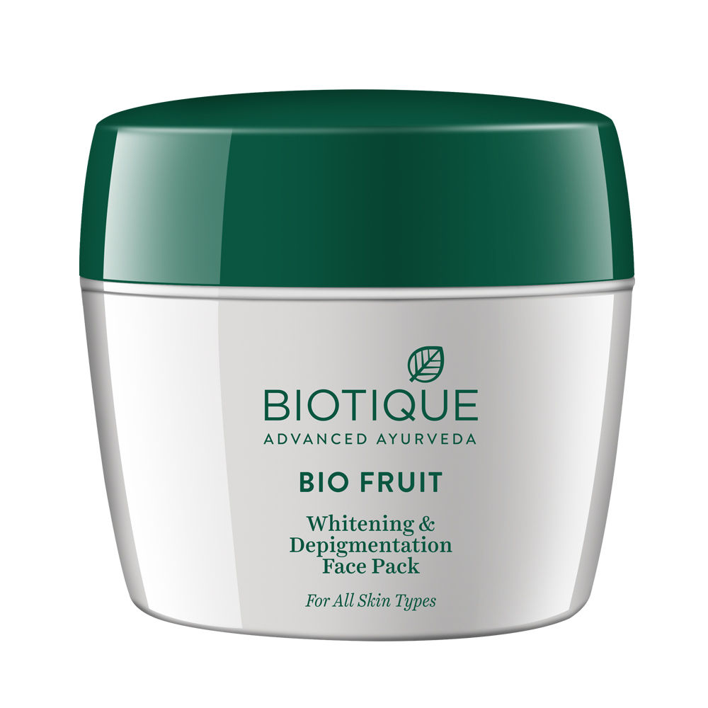 Biotique Bio Fruit Whitening and Depigmentation Face Pack 235gm
